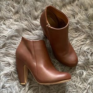 Woman's brown booties